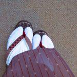 琉球がすり用草履