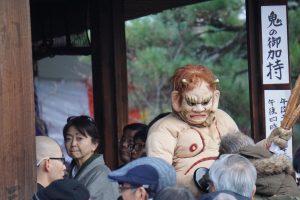 蘆山寺の鬼のうしろ